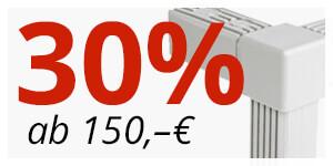 ab 150€ -> 30% Rabatt