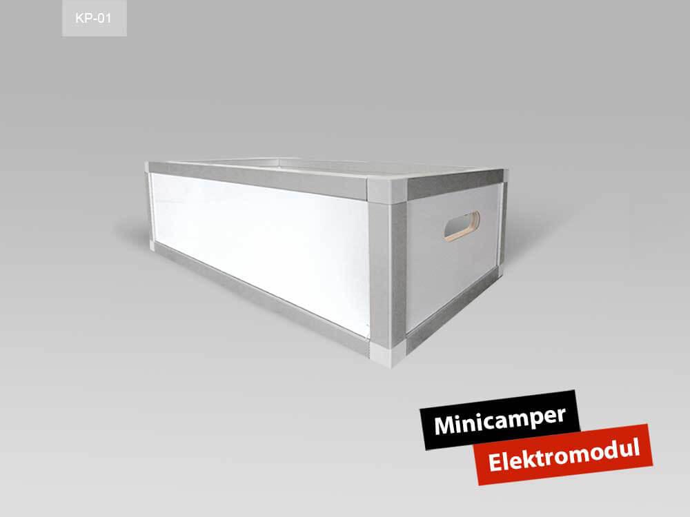 Minicamper Elektromodul Citroen Berlingo Hochdachkombi