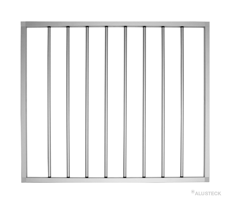 Treppengitter Bauleitung zum selber bauen Schutzgitter Konstruktion