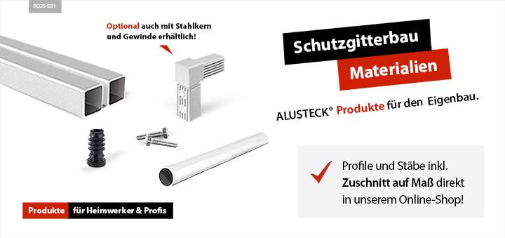 Gitterbau Online Shop Sortiment Material Produkte Eigenbau