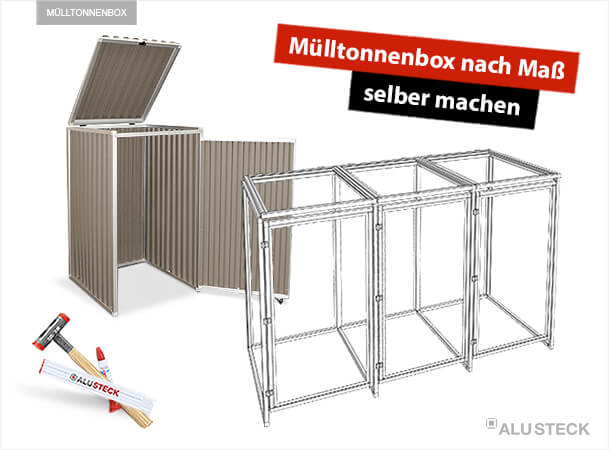 m lltonnenbox selber machen schritt f r schritt. Black Bedroom Furniture Sets. Home Design Ideas