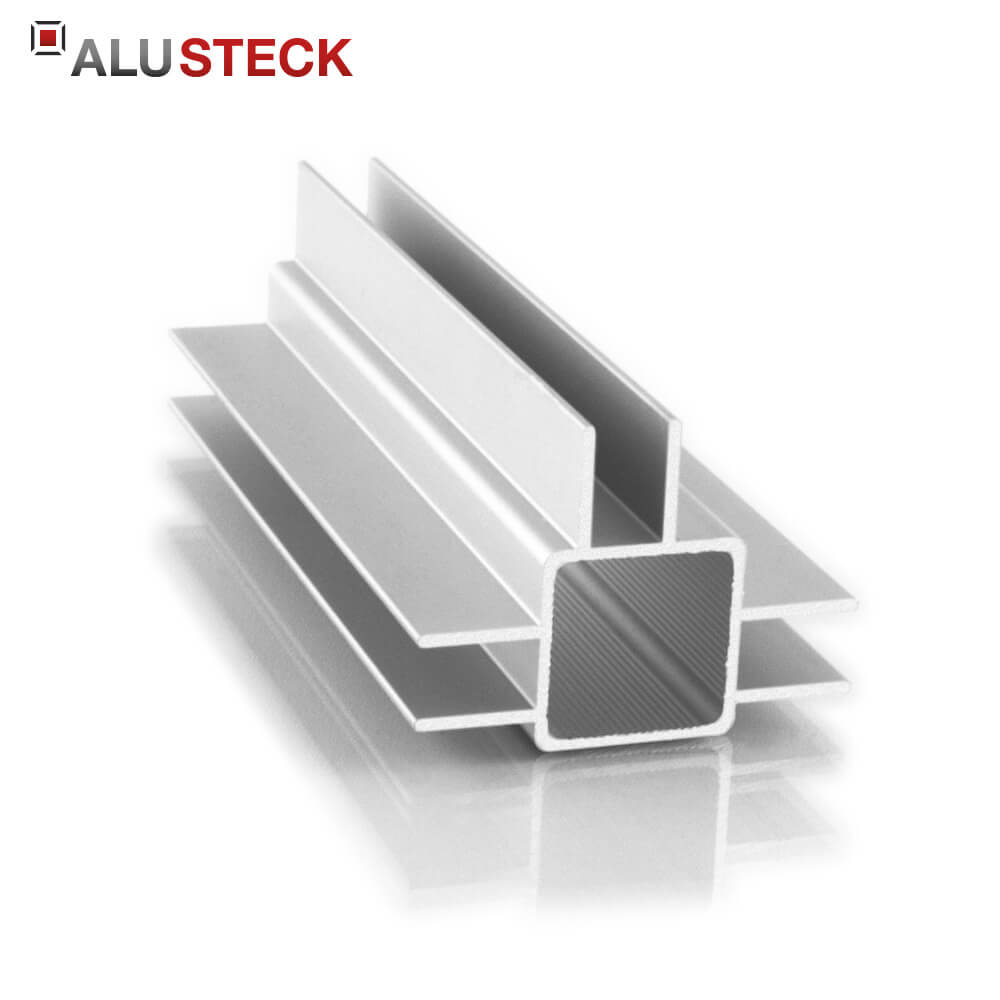 aluprofil 25x25x1 5mm 3 doppelstege 15mm quadratrohr 6m lagerl nge. Black Bedroom Furniture Sets. Home Design Ideas