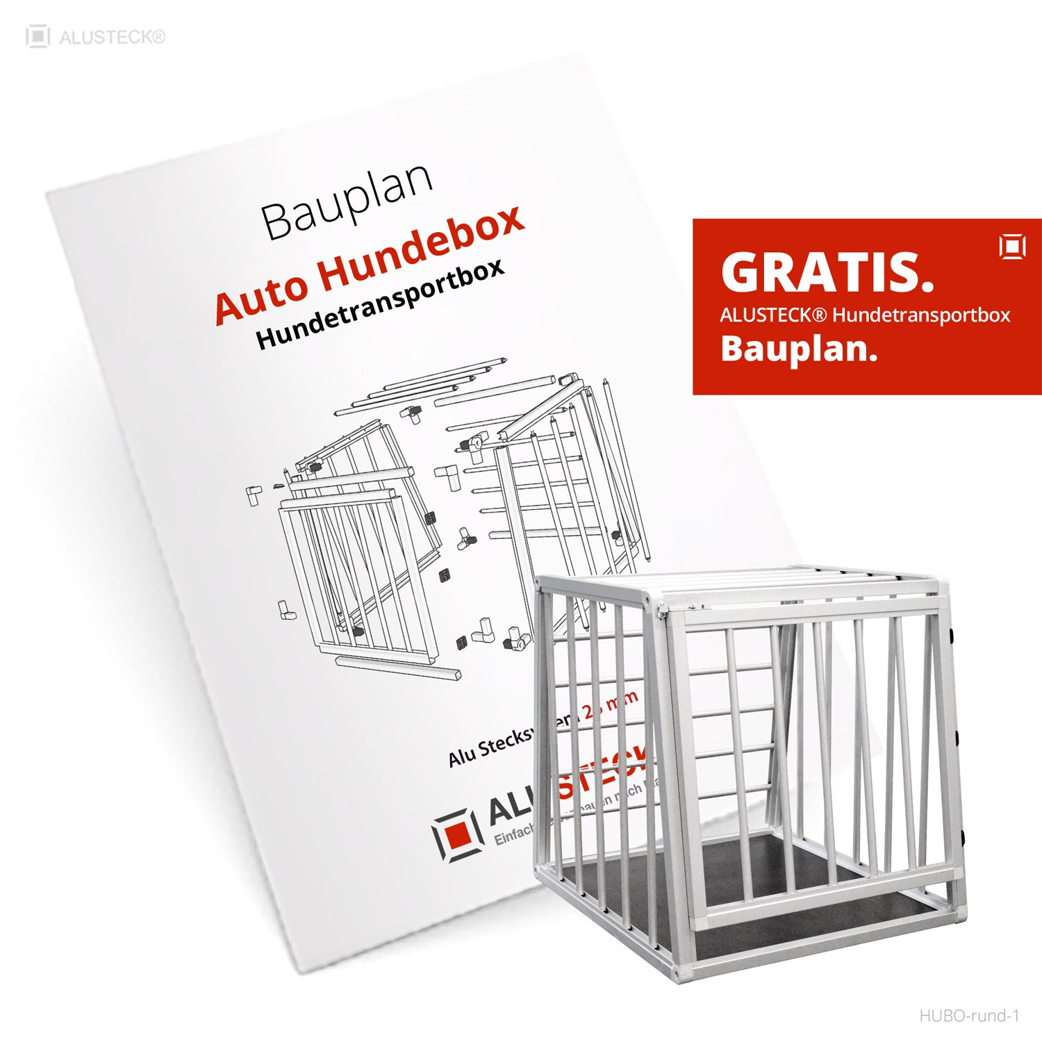 hundetransportbox bauplan auto hundebox 1 alusteck baupl ne. Black Bedroom Furniture Sets. Home Design Ideas