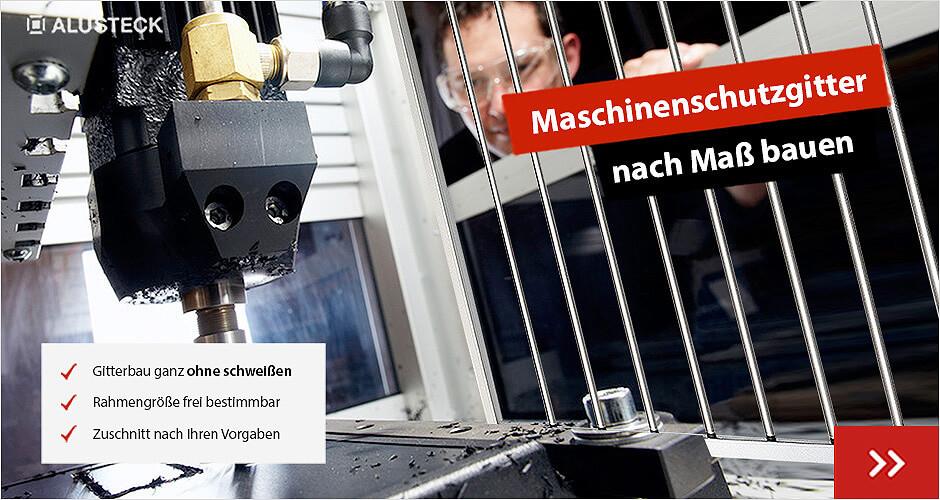 Anwendungsbereiche Maschinenschutzgitter