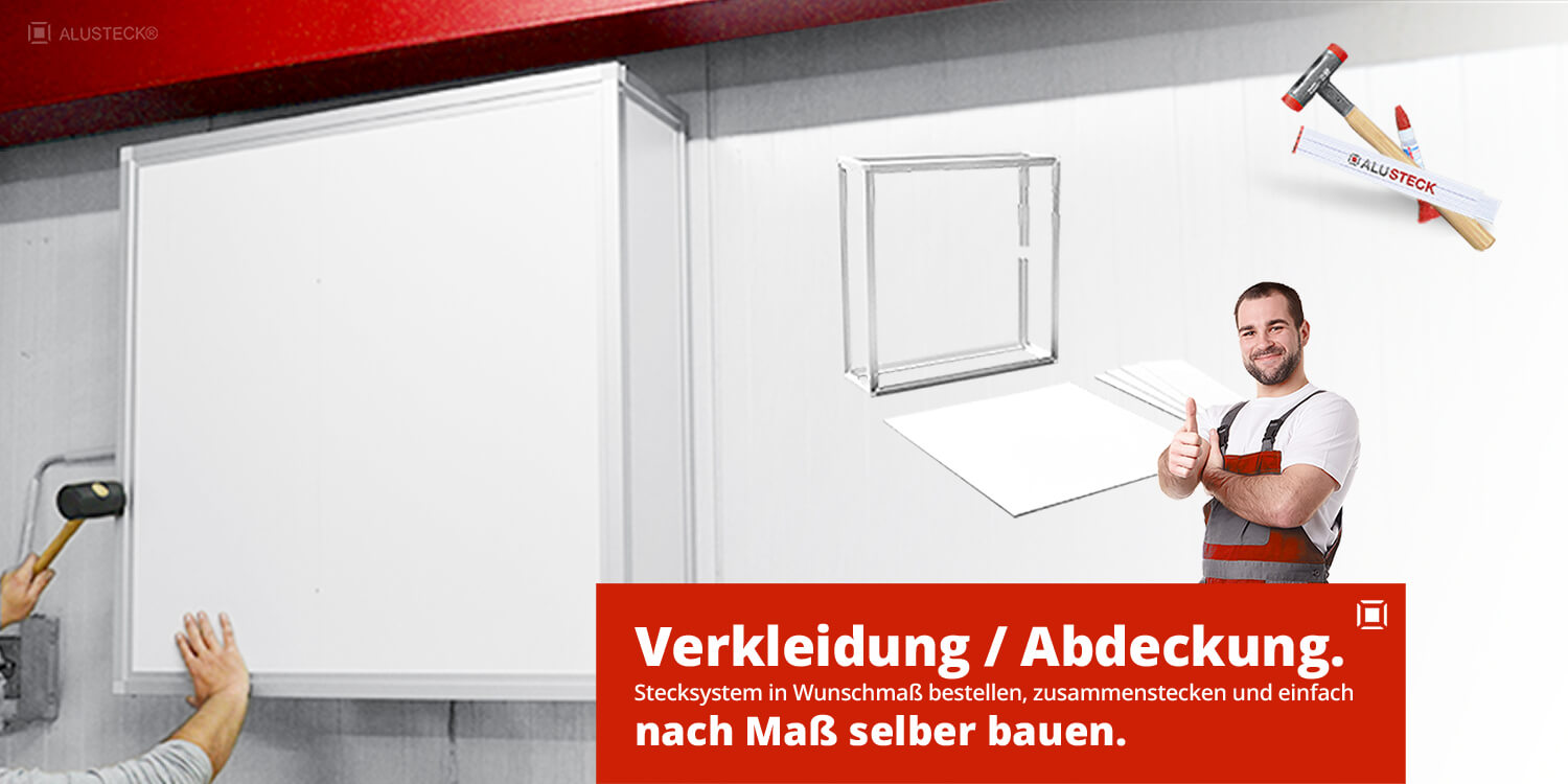 Abdeckung / Verkleidung ventilator bauen - do it yourself