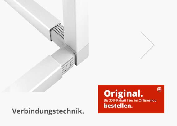 Rohrverbinder - Eckverbinder - Steckverbinder und Rohrstopfen