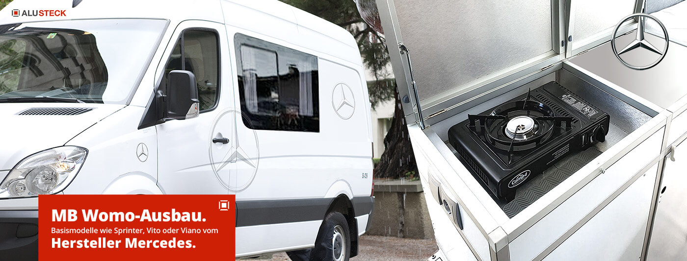 Mercedes Benz Sprinter, Viano oder Vito Wohnmobil selbstausbau Basismodelle