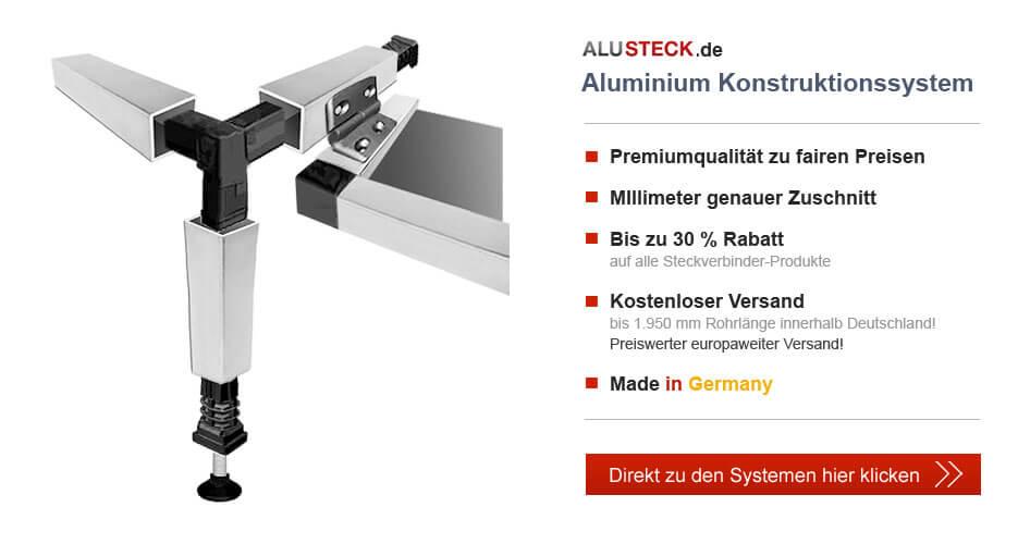 Aluminium Konstruktionssystem