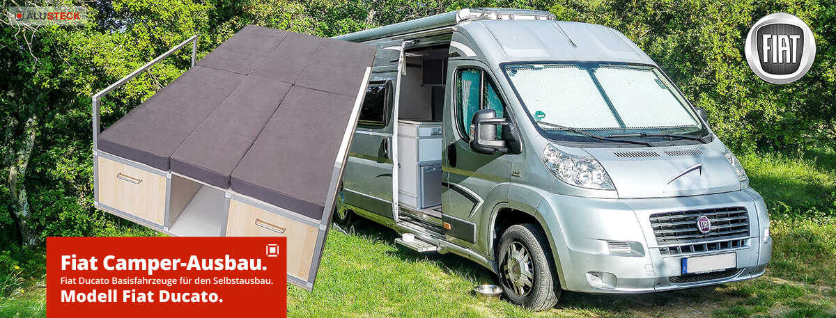 Fiat Ducato Ausbau Camper Module Basismodelle Selbstausbau Wohnmobil
