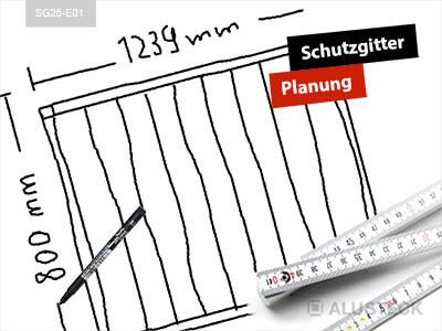 Schutzgitter selber bauen – Planung