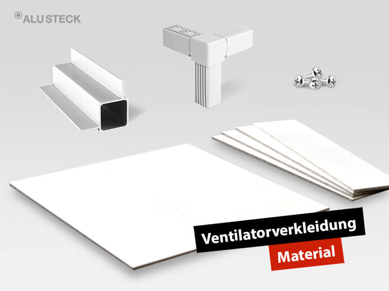 Material für den Bau von Abdeckungen und Gehäusen