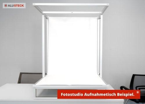 Bauanleitung Fototisch selbst bauen - TableTop Beispielansicht