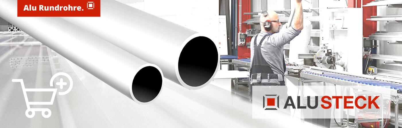 Alurohre online Shop - Alu Profile Rundrohre aus Aluminium kaufen