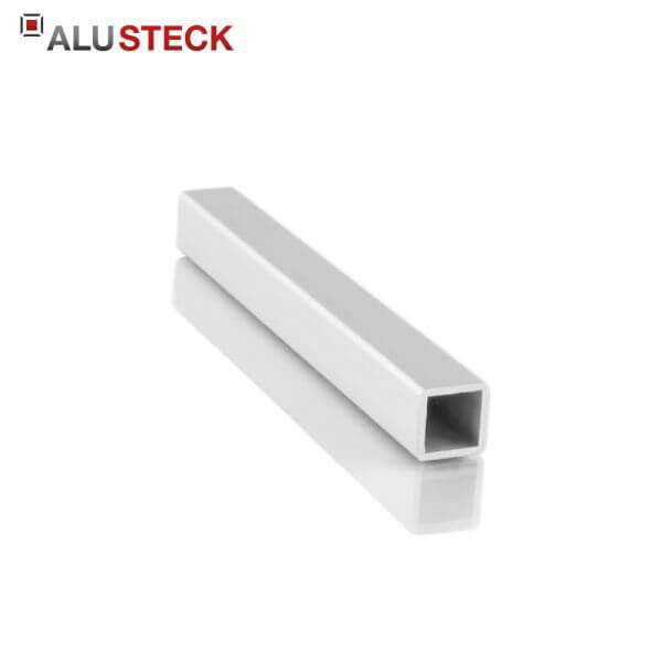 Aluprofil 13,5x13,5x1,25mm: Quadratrohr 6m Lagerlänge