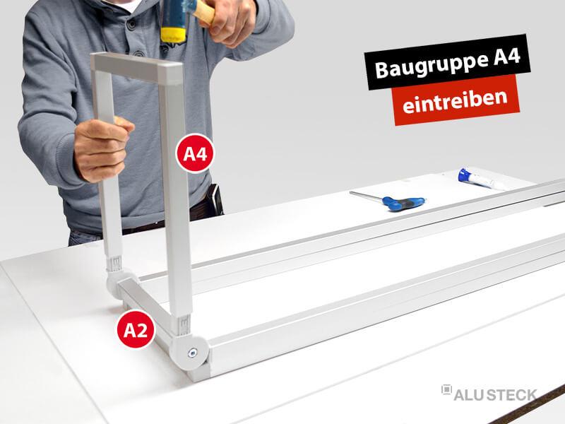 plattenwagen-plattenstuetzen-baugruppen-verbinden-bauanleitung-schritt-1-5-baugruppe-A4-eintreiben
