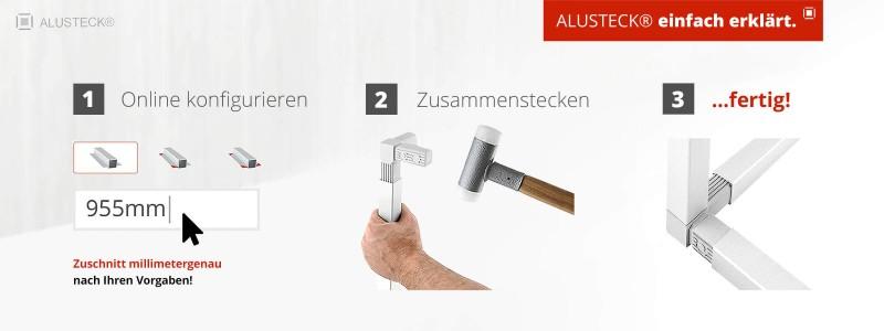 Onlineshop ALUSTECK®