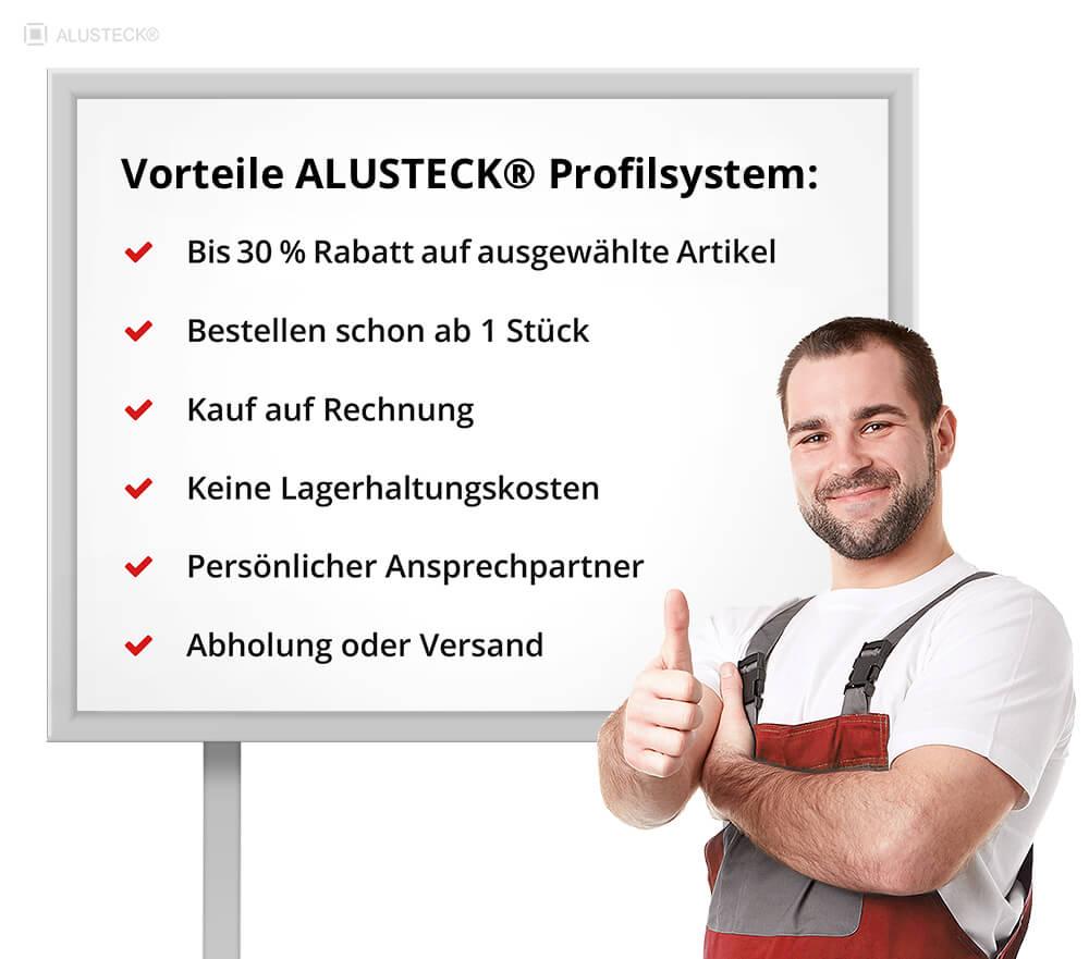 ALUSTECK® Alu Stecksysteme