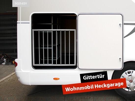 Gittertür Wohnmobil Heckgarage