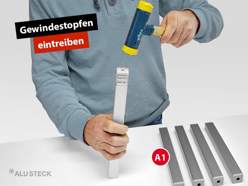 plattenwagen-plattenstuetzen-bauen-bauanleitung-schritt-1-2-gewindestopfen-eintreiben