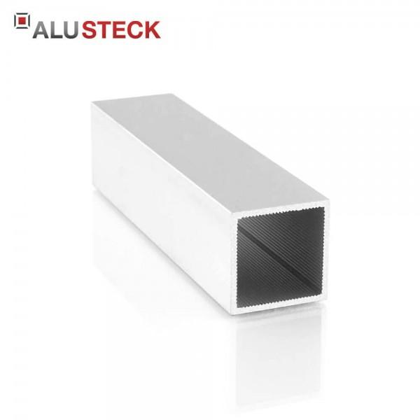 Alu Vierkantrohr 30x30x2mm Aluminiumprofil Quadratrohr R-V30-SI