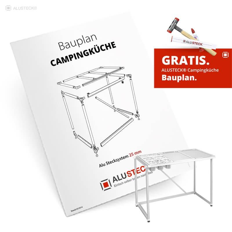 Campingküche Bauplan PDF anfordern