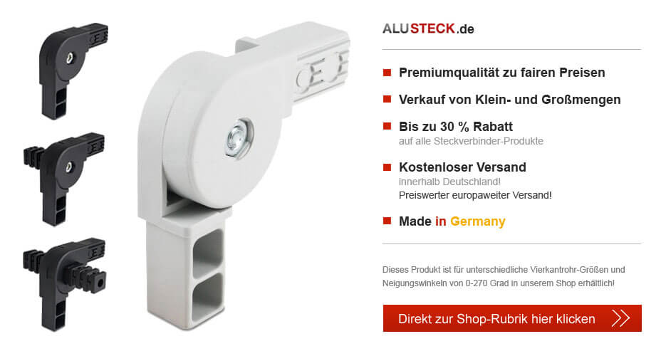 Gelenkverbinder Kunststoff