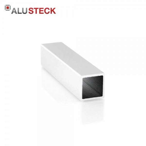 Aluprofil 20x20x1,5mm: Quadratrohr 6m Lagerlänge