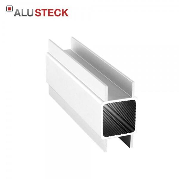 H-Profil Aluminium 25x45x1,5mm für 16mm Platten