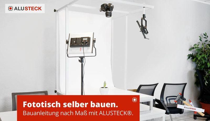 Fototisch selber bauen - Bauanleitung Fotostudio TableTop Aufnahmetisch