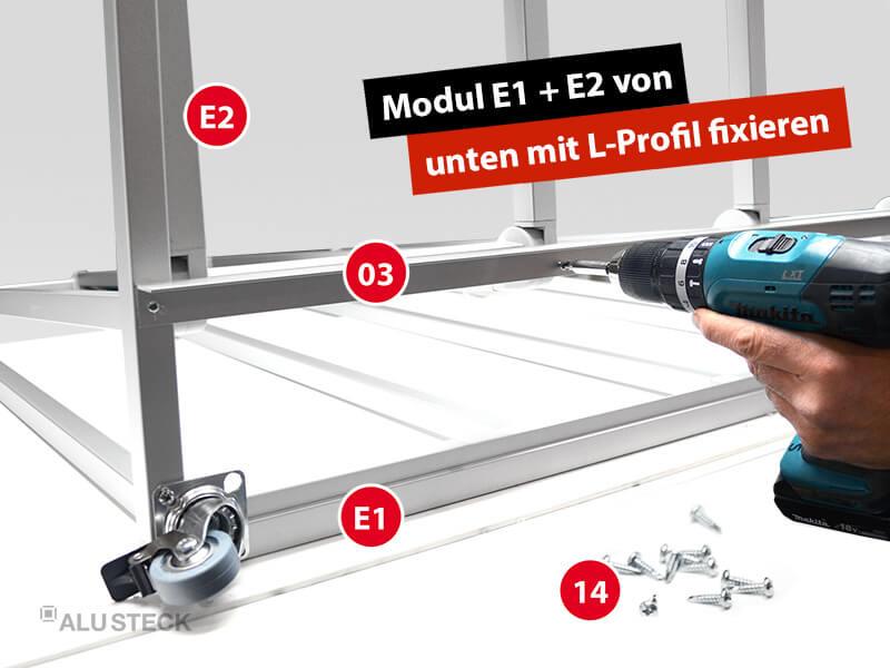 plattenwagen-selber-bauen-endmontage-bauanleitung-schritt-3-4-modul-E2-mit-l-profil-fixieren
