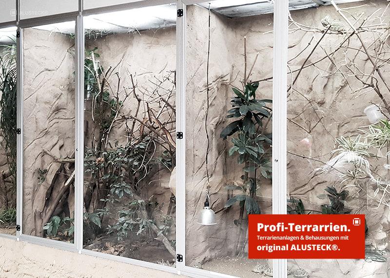 Terrarienbau do-it-yourself Anleitung Bartagamen Terrarium