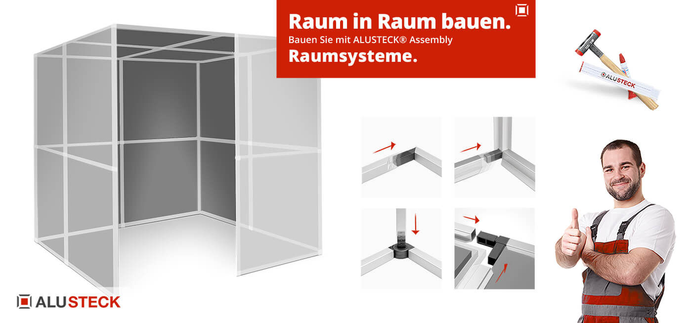 Raum in Raum System selber bauen - Assembly Raumsystem