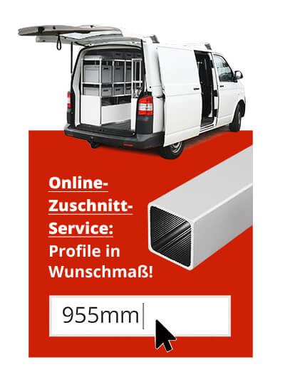 Fahrzeugausbau Nutzfahrzeuge - ALUSTECK® Zuschnitt Servic USP