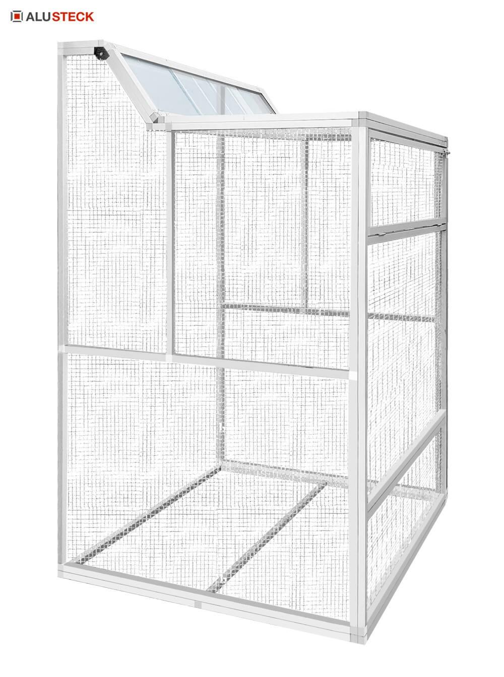 Taubenschlag Zuchtschlag Reiseschlag Anbau Konstruktion bauen fertig zusammengebaut
