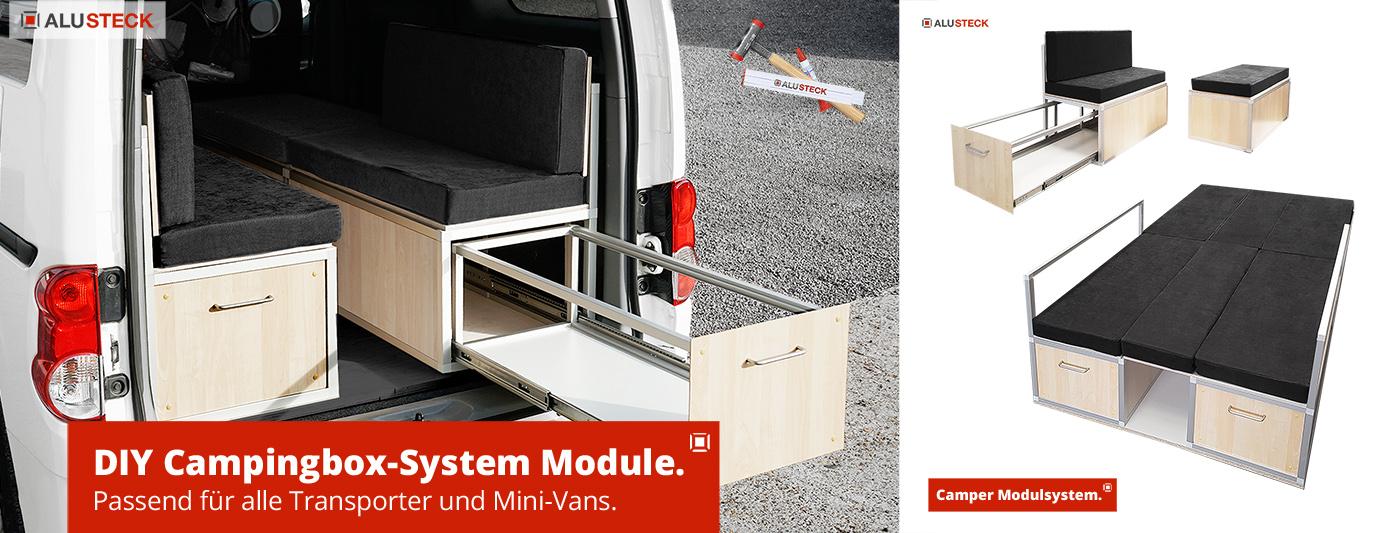Campingbox-Module selber bauen - do it yourself Bauanleitung