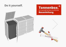 Bauanleitung Mülltonnenverkleidung / Tonnenhaus