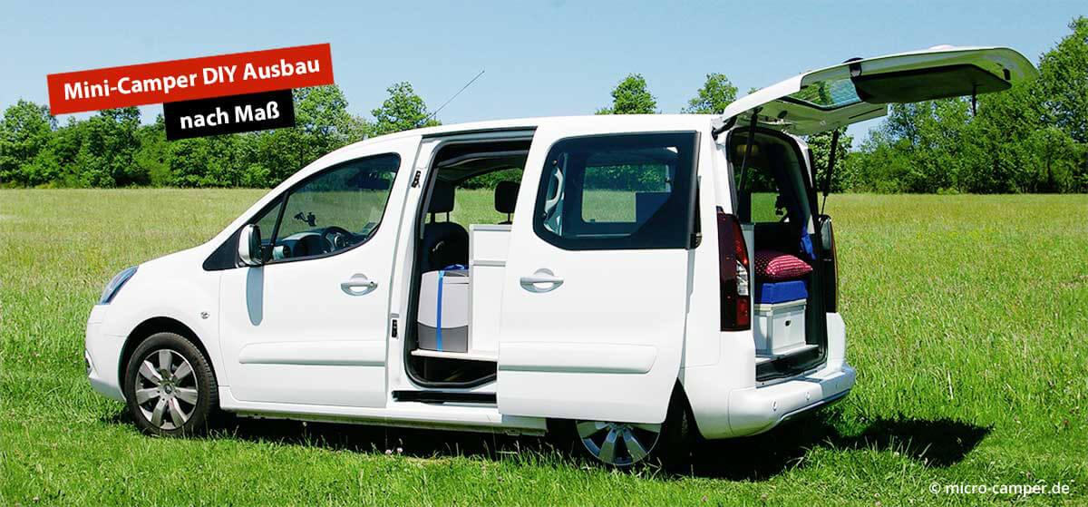 Mini Camper Ausbau Hochdachkombi Wohnmobil Selbstausbau