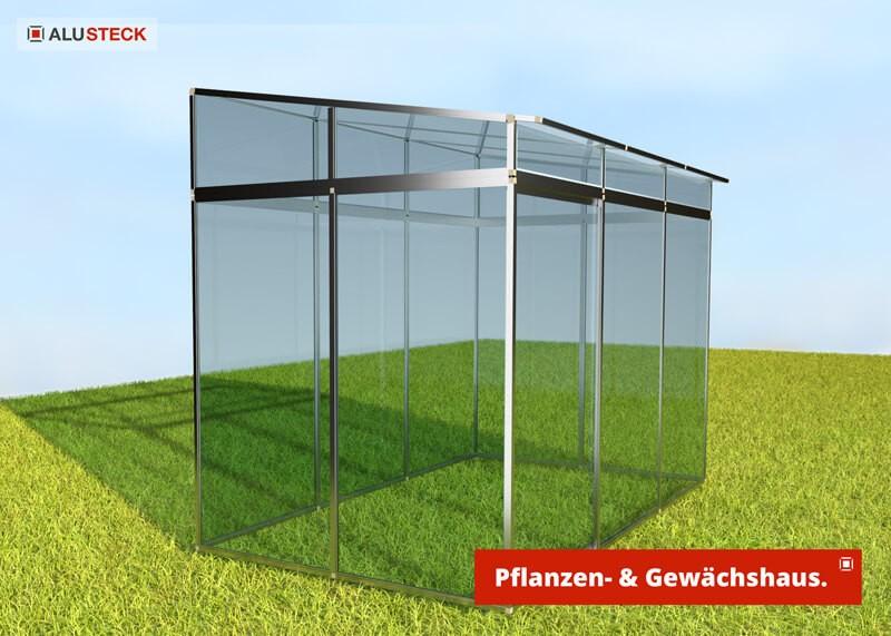 Gewächshaus / Pflanzenhaus Stecksystem
