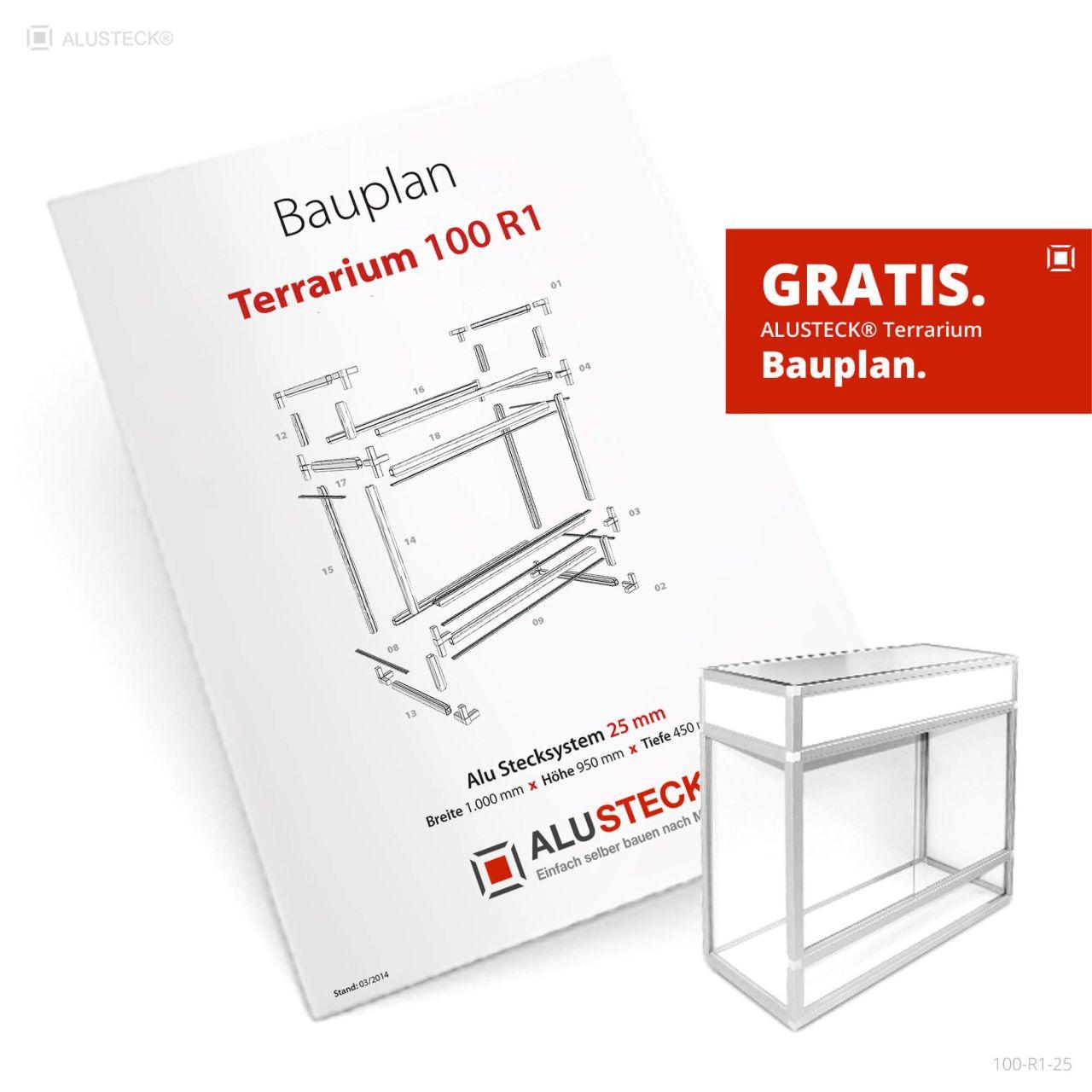 Terrarium Bauplan kostenlos anfordern