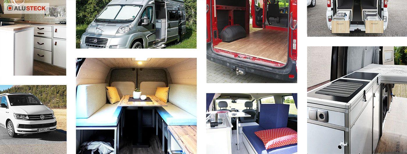 Camper Ausbau - DIY Möbel und Module Campingbox selber bauen - DIY Camperausbau