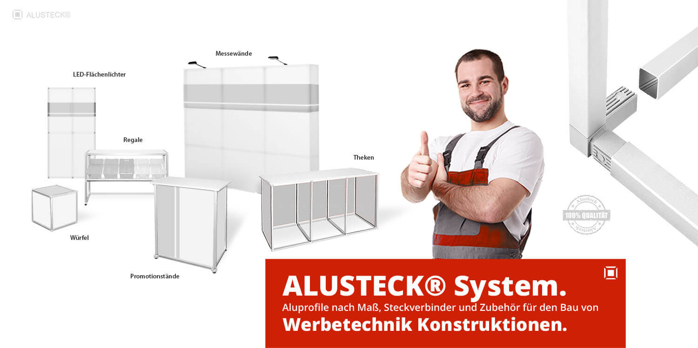 Werbetechnik Aluprofile & Verbindungstechnik Großhandel Lieferant