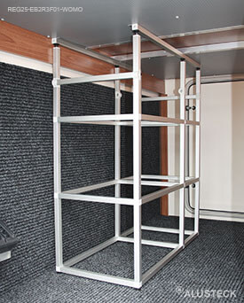 regal f r die heckgarage im eigenbau haus bilder idee. Black Bedroom Furniture Sets. Home Design Ideas