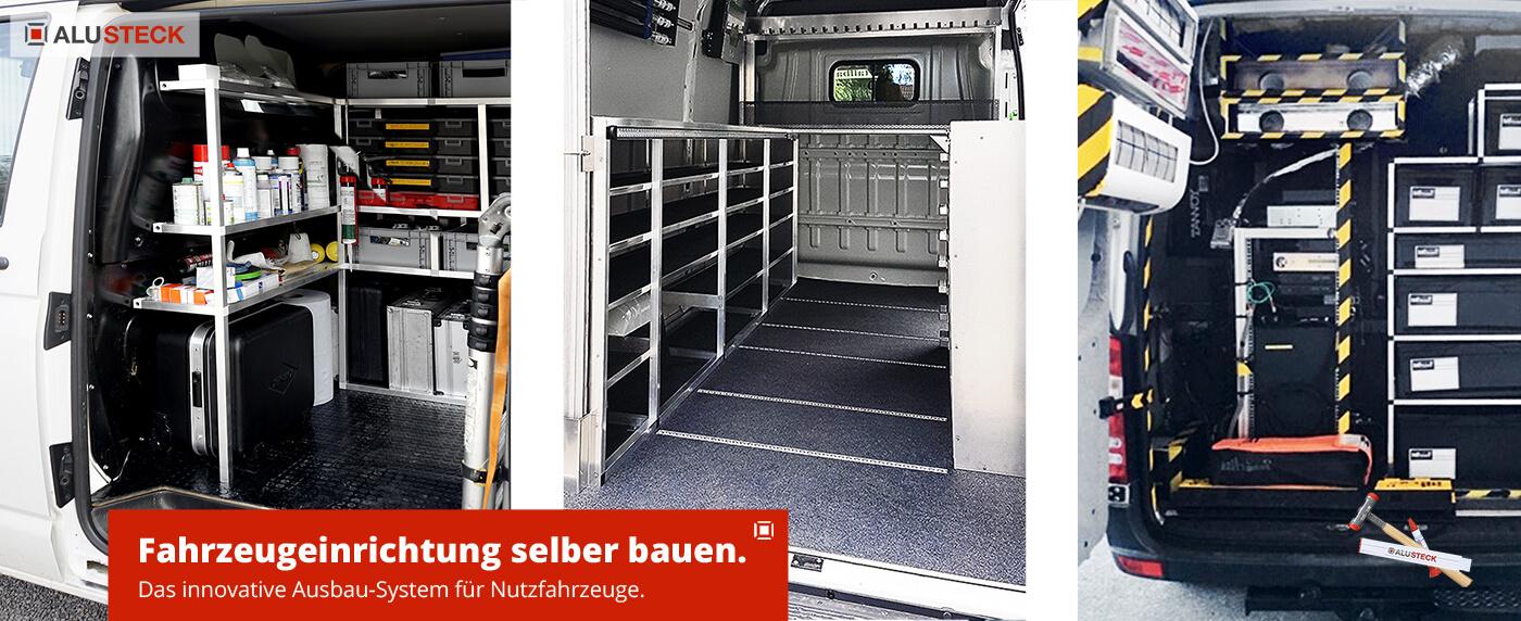Fahrzeugeinrichtung selber bauen - Fahrzeugausbau Nutzfahrzeuge