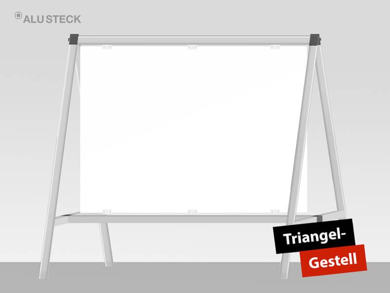 Triangel Gestell für Bauschilder etc.