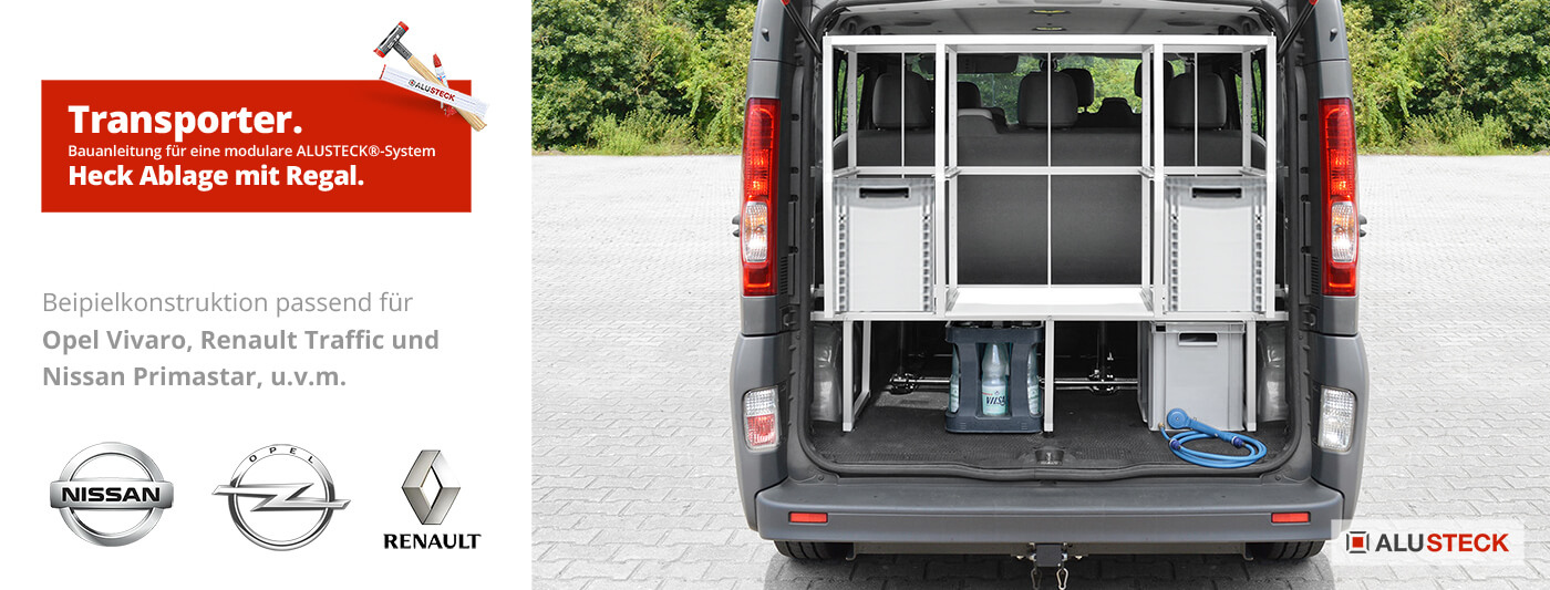 Diy Transporter Regal System Bauen Fahrzeugausbau Alusteck