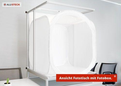 Fotostudio bauen - Fotobox integriert Ansicht 3