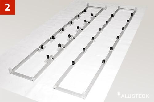 Schritt 2: Regalbau Zuordnung der Bauteile