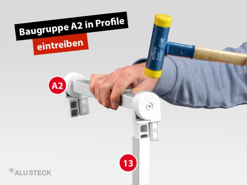 plattenwagen-plattenstuetzen-baugruppen-verbinden-bauanleitung-schritt-1-2-baugruppe-A2-in-profile-eintreiben