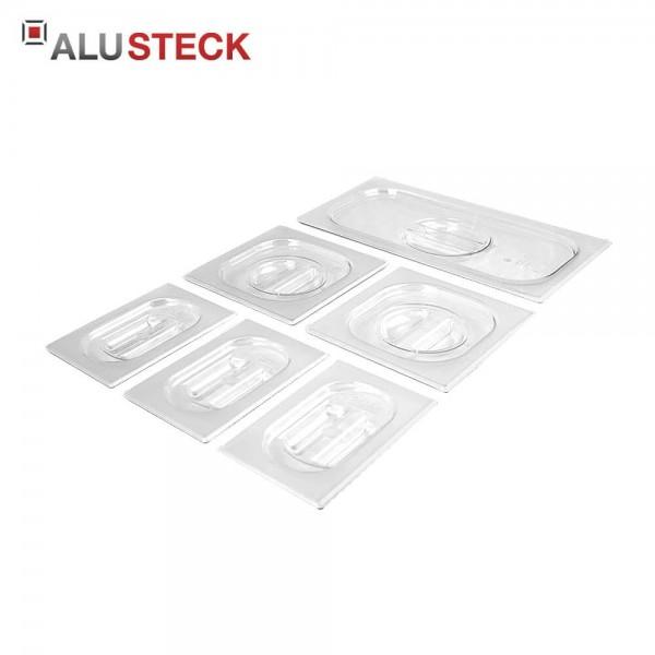 Lebensmittelbehälter Deckel Set-E1 (Kunststoff) mit Griff - Outdoor-Küche