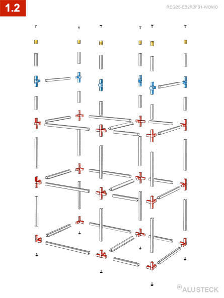 Regal Wohnmobil Heckgarage Bauen Alusteck Bauanleitung